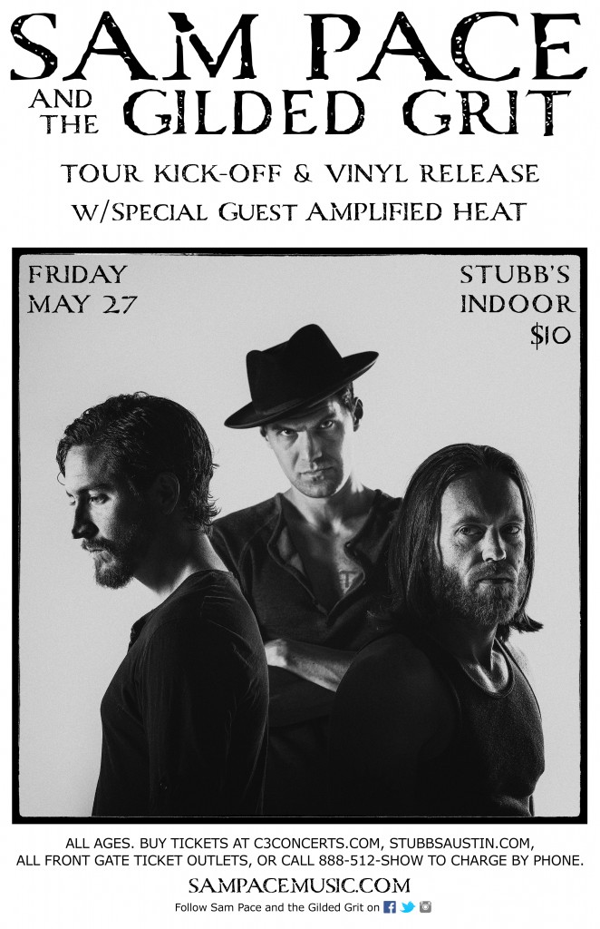 Sam Pace Band - Stubbs Poster